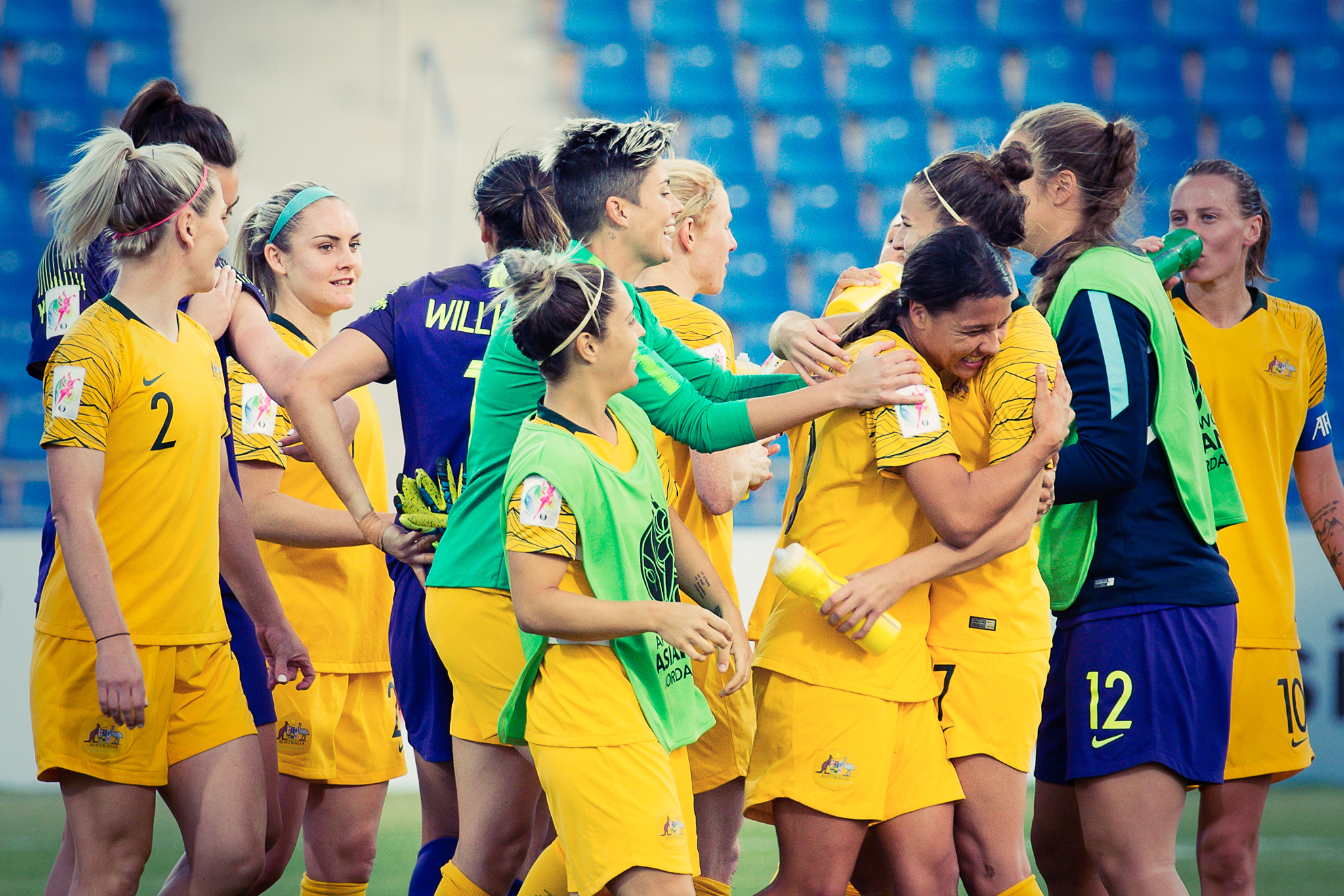 Matildas qualify for WWC2019