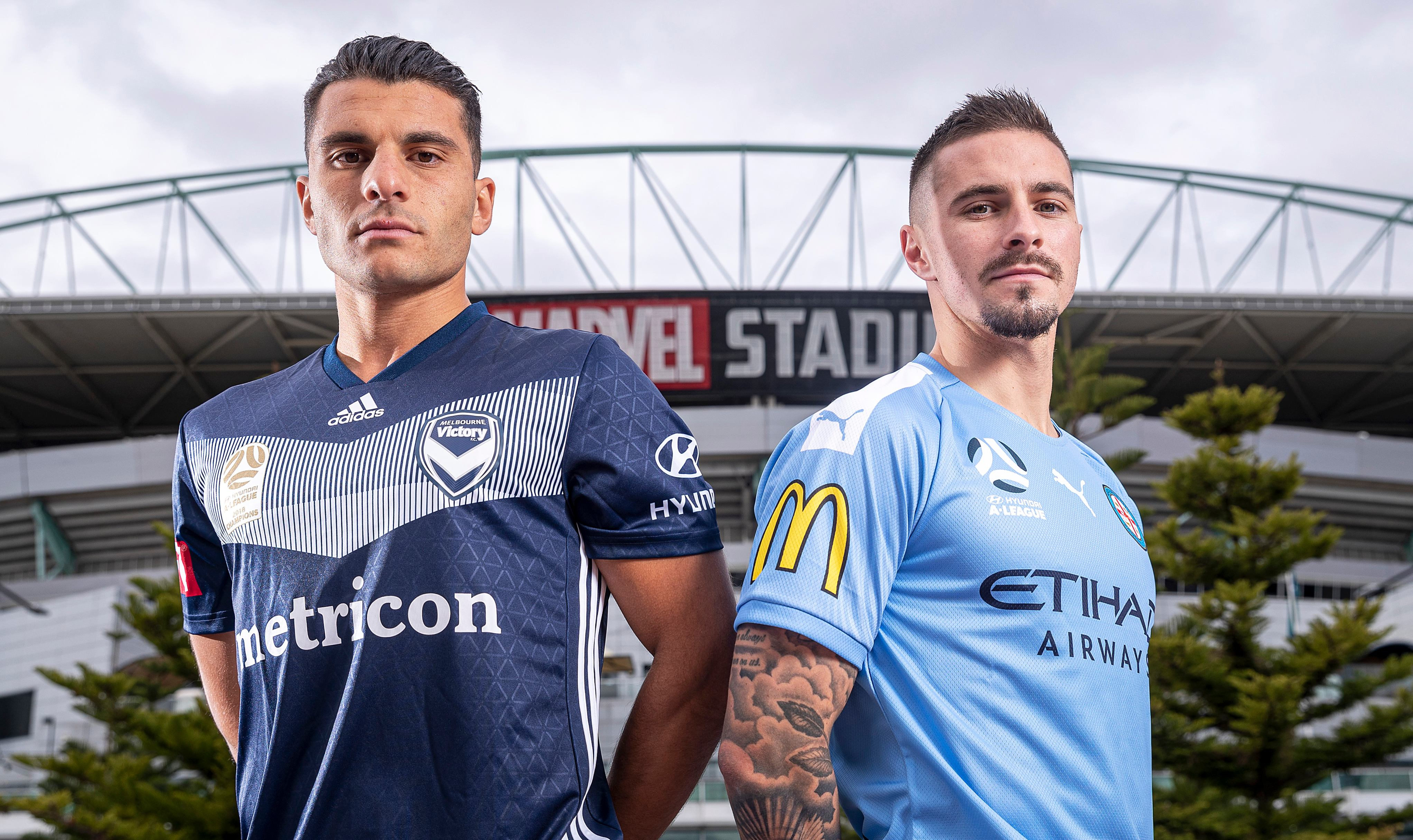 Melbourne City kick off their campaign in the Derby with Melbourne Victory
