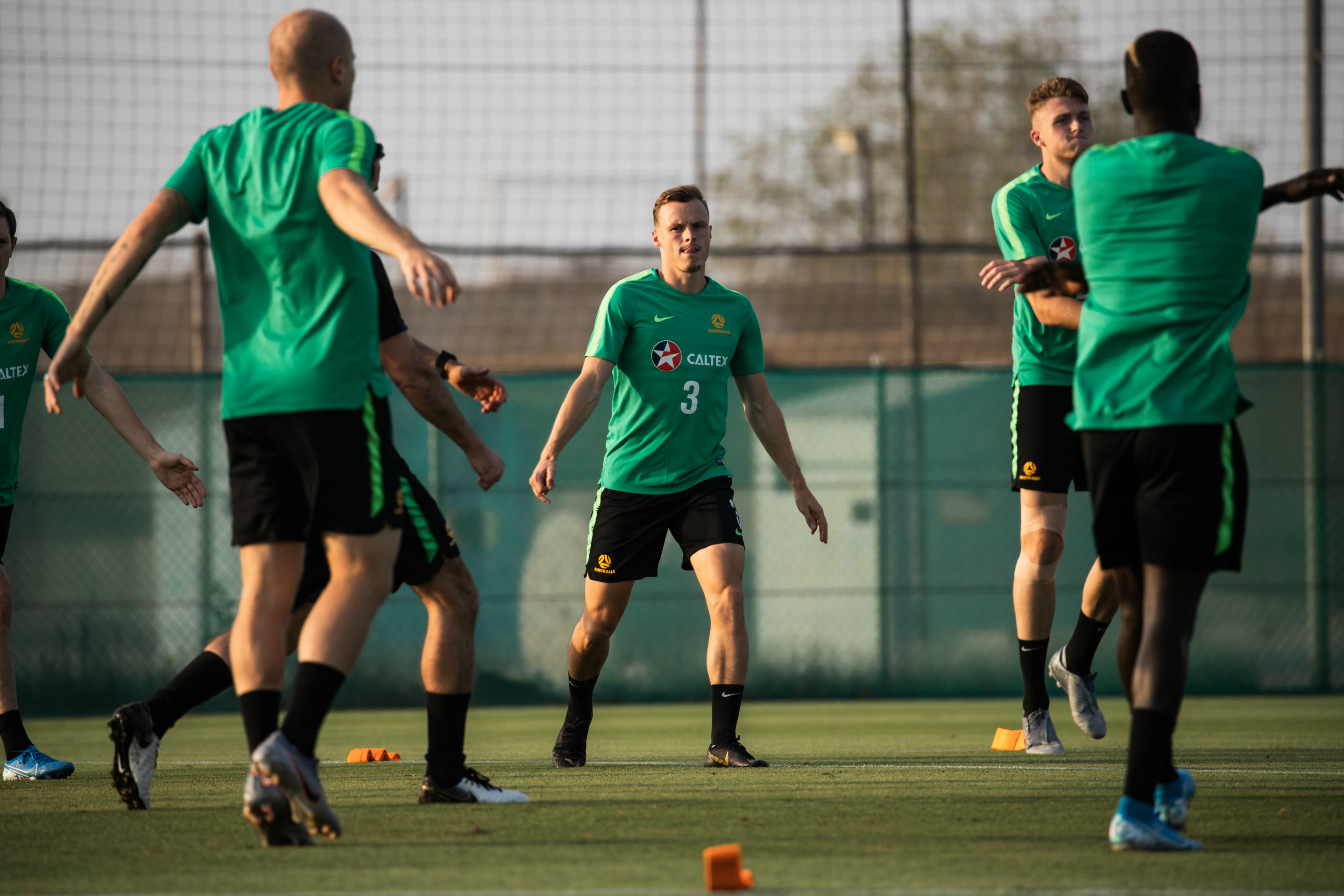 Brad Smith is relishing being back in camp with the Caltex Socceroos ahead of the Kuwait clash