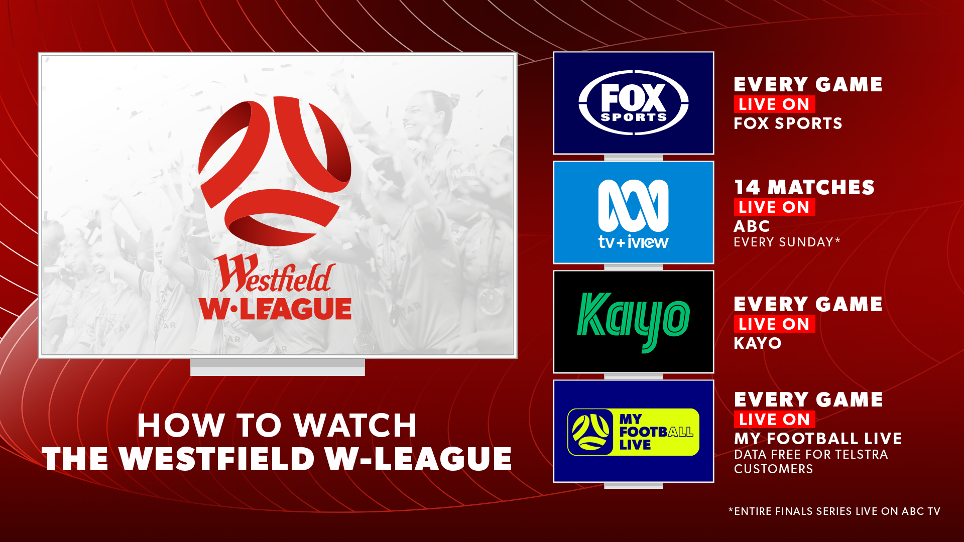 W-League free to air