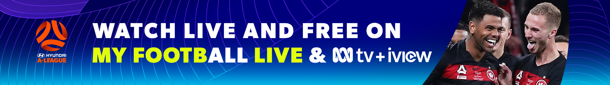 Watch Hyundai A-League Live and Free on ABC and iView