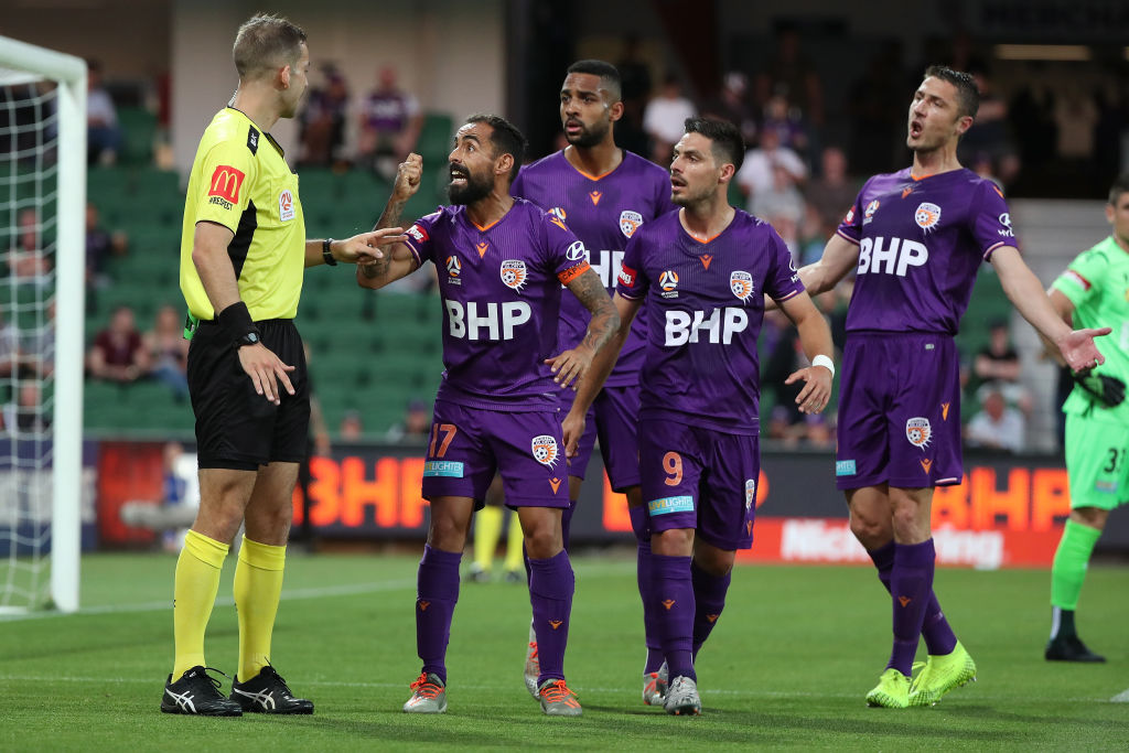 Glory players detest conceding a penalty against Sydney FC