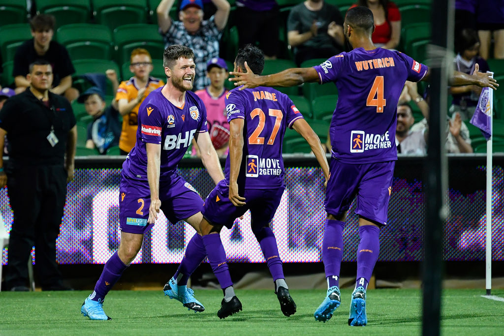 Celebrations were raucous as Grant grabbed Glory's second