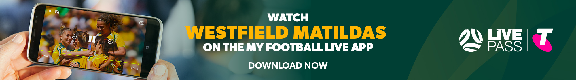 Matildas Telstra Live Pass