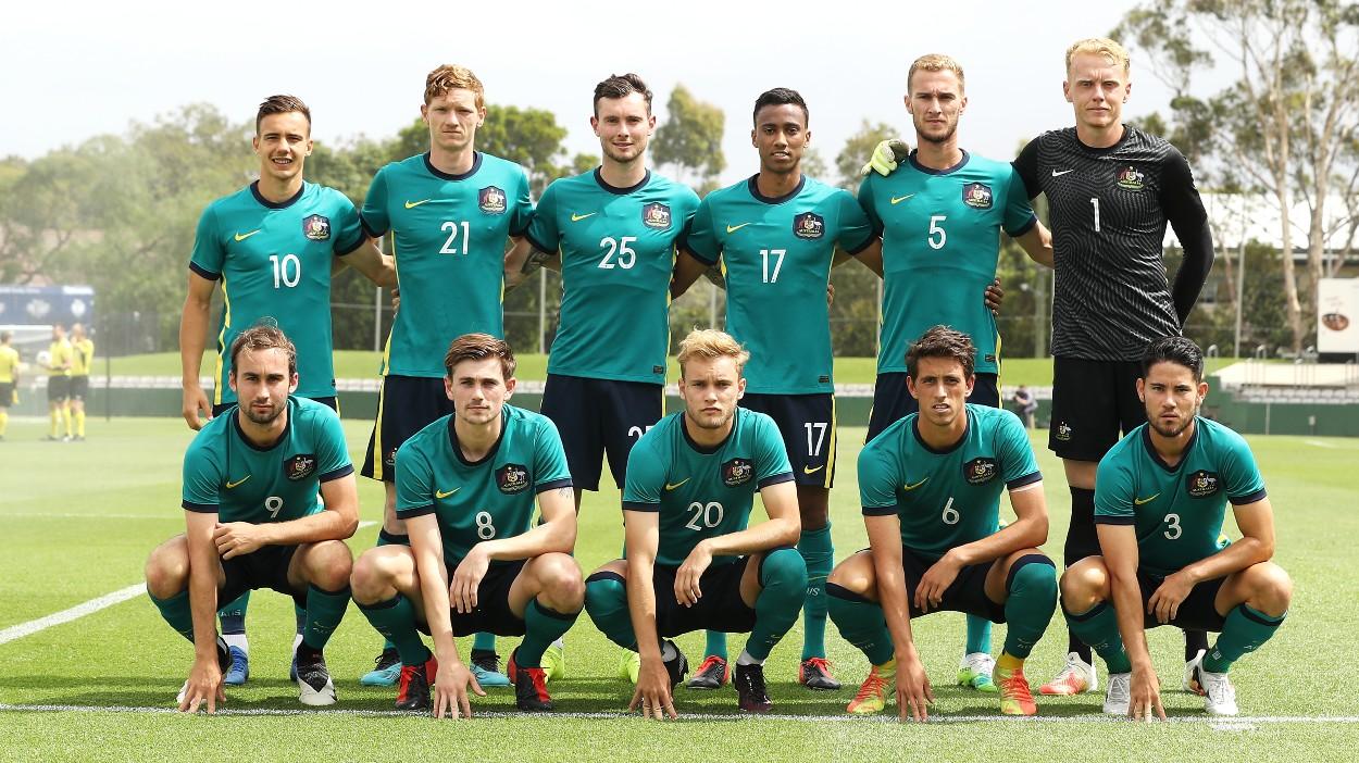 Australian U-23 Men's v Macarthur FC - η αρχική σύνθεση