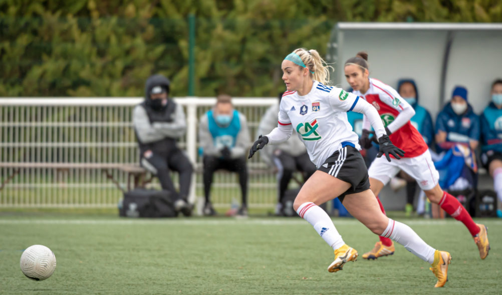 Ellie Carpenter Coupe de France Huitièmes de finale