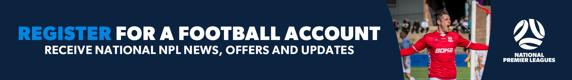 NPL Register For  A Football Account