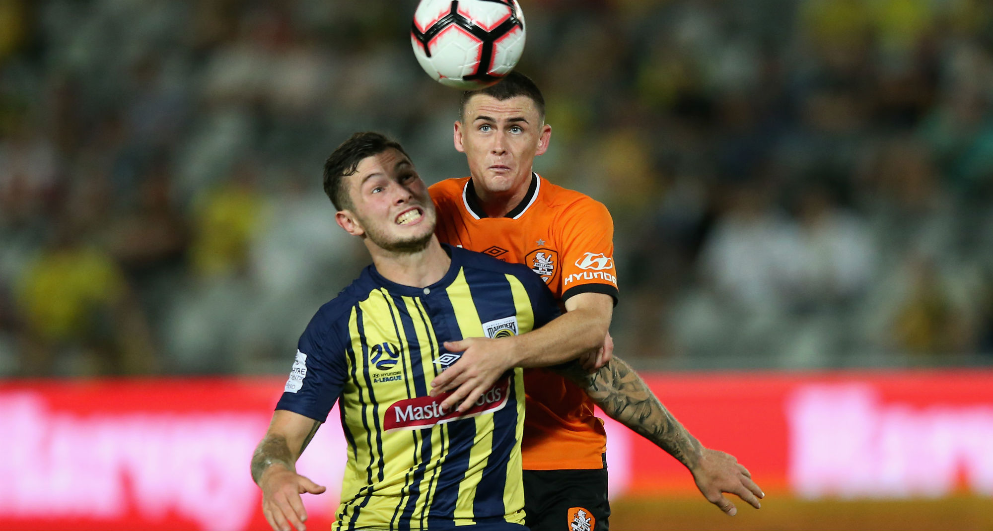Mariners 2018/19 Player of the Year Aiden O'Neill will be pulling on a Brisbane Roar jersey in 2019/20.