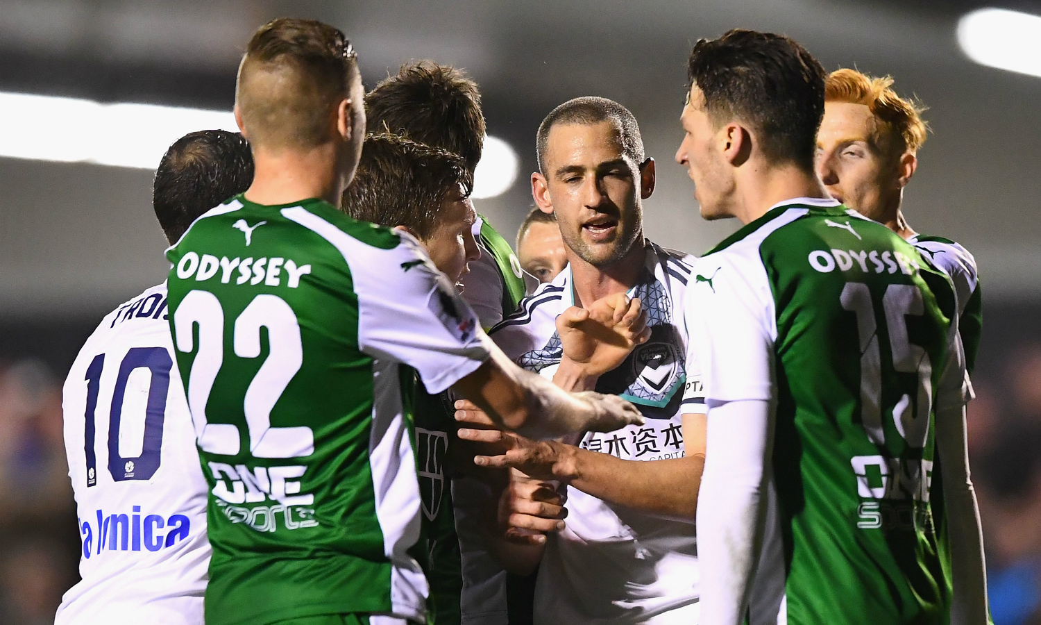 Bentleigh Greens and Melbourne Victory