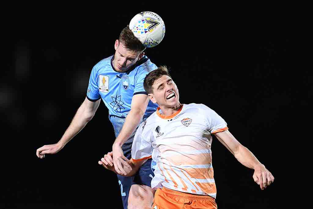 Aaron Calver FFA Cup action vs Cairns_August 2018