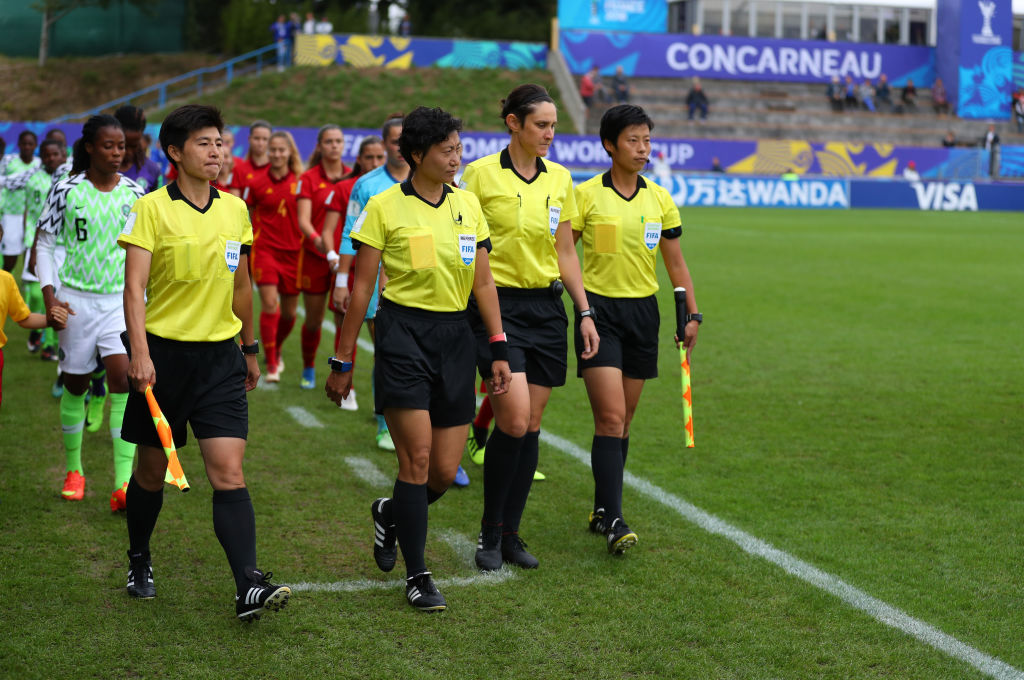 Kate Jacewicz Australian referee at FIFA Women's World Cup France 2019™