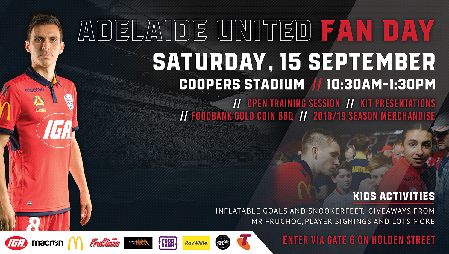 Adelaide United Fan Day 2018