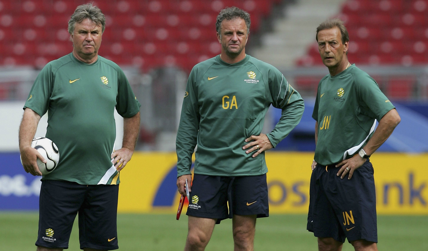Graham Arnold Hiddink Neeskens