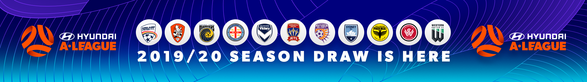 Hyundai A-League 2019/20 Season Draw Is Here