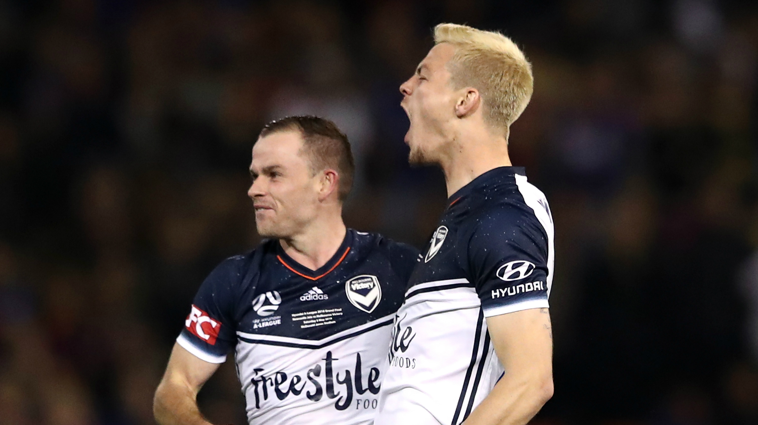 Leigh Broxham and James Donachie