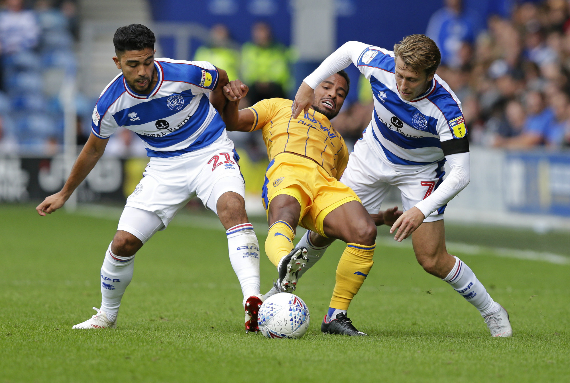 Luongo tackles against Wigan