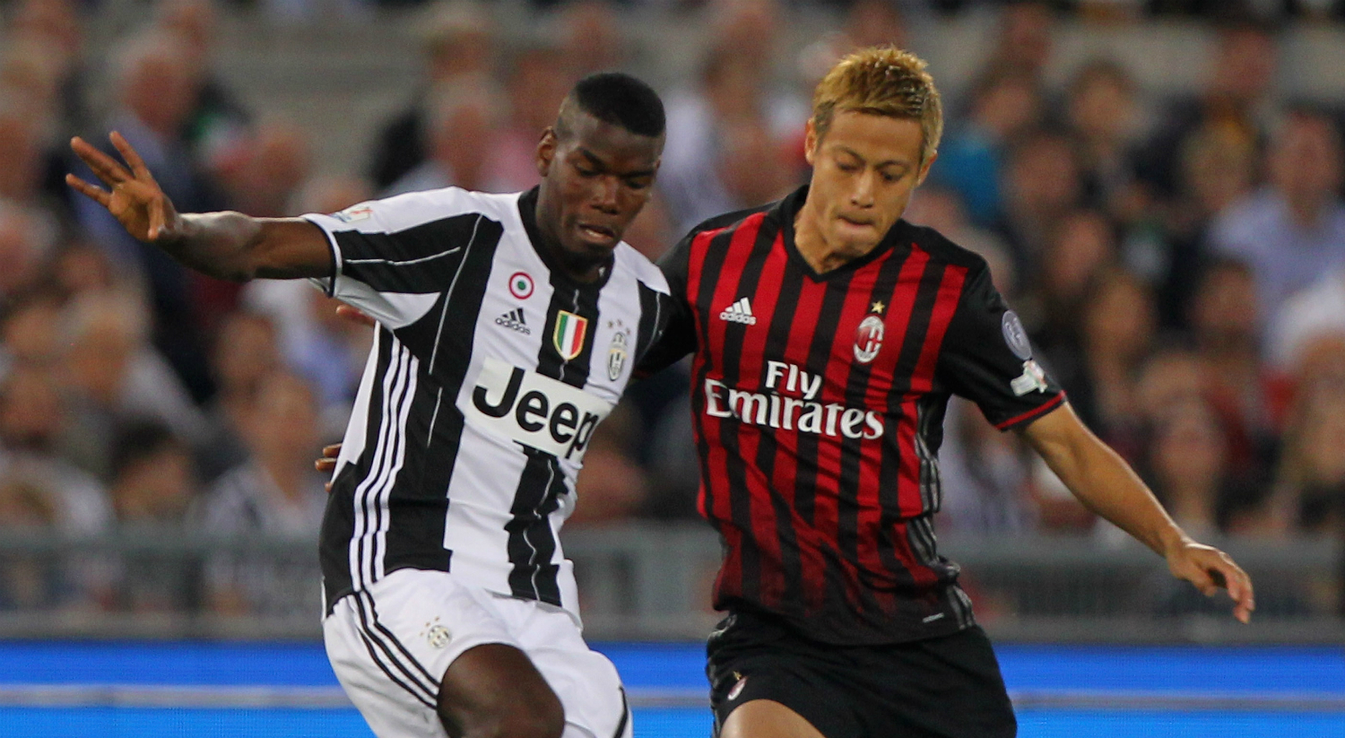 Pogba and Honda