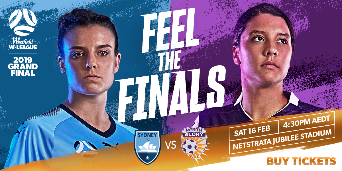 Westfield W-League 2019 Grand Final Promo Tile