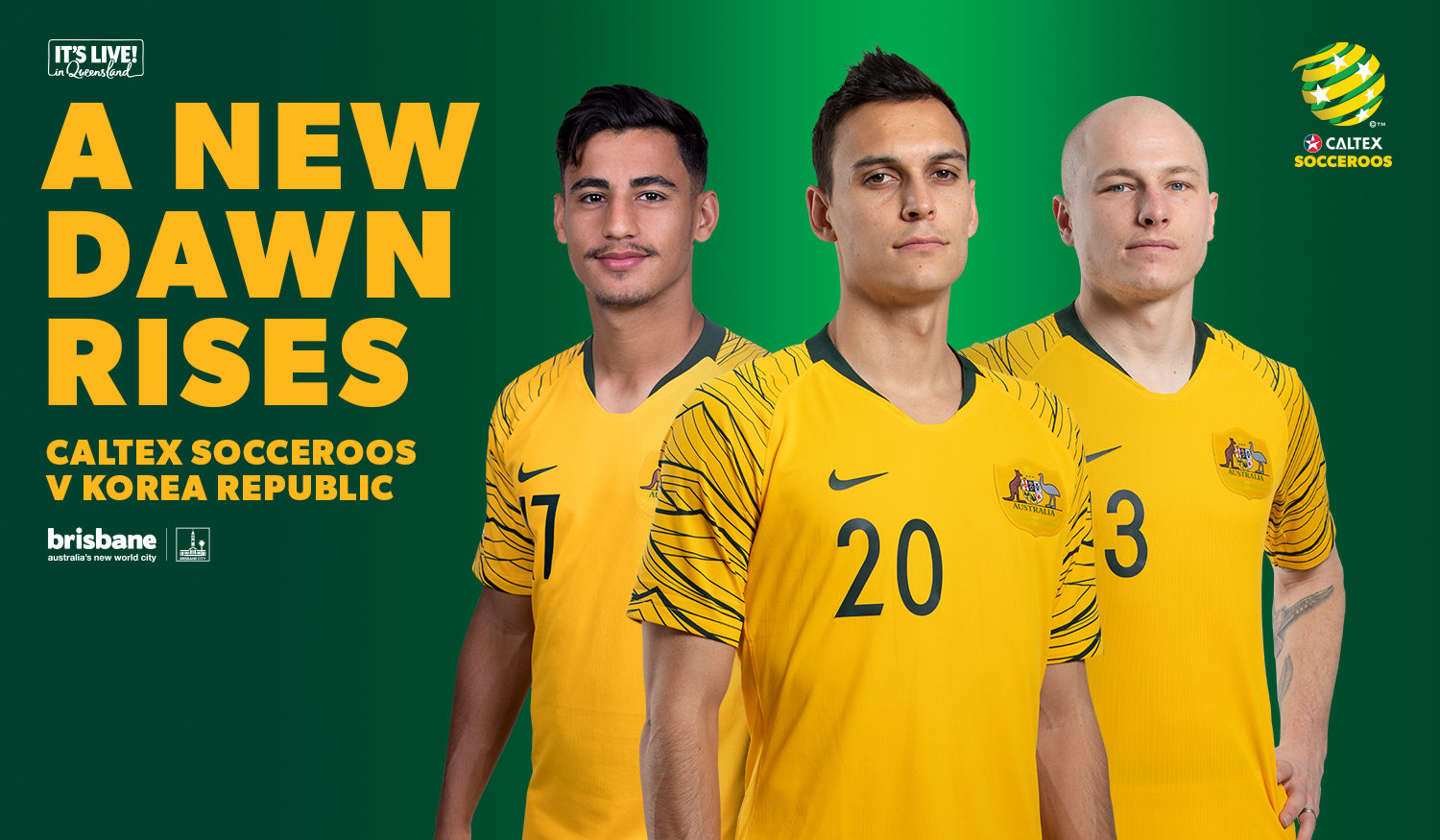31006efdb How to get your tickets to see the Caltex Socceroos  play Korea Republic