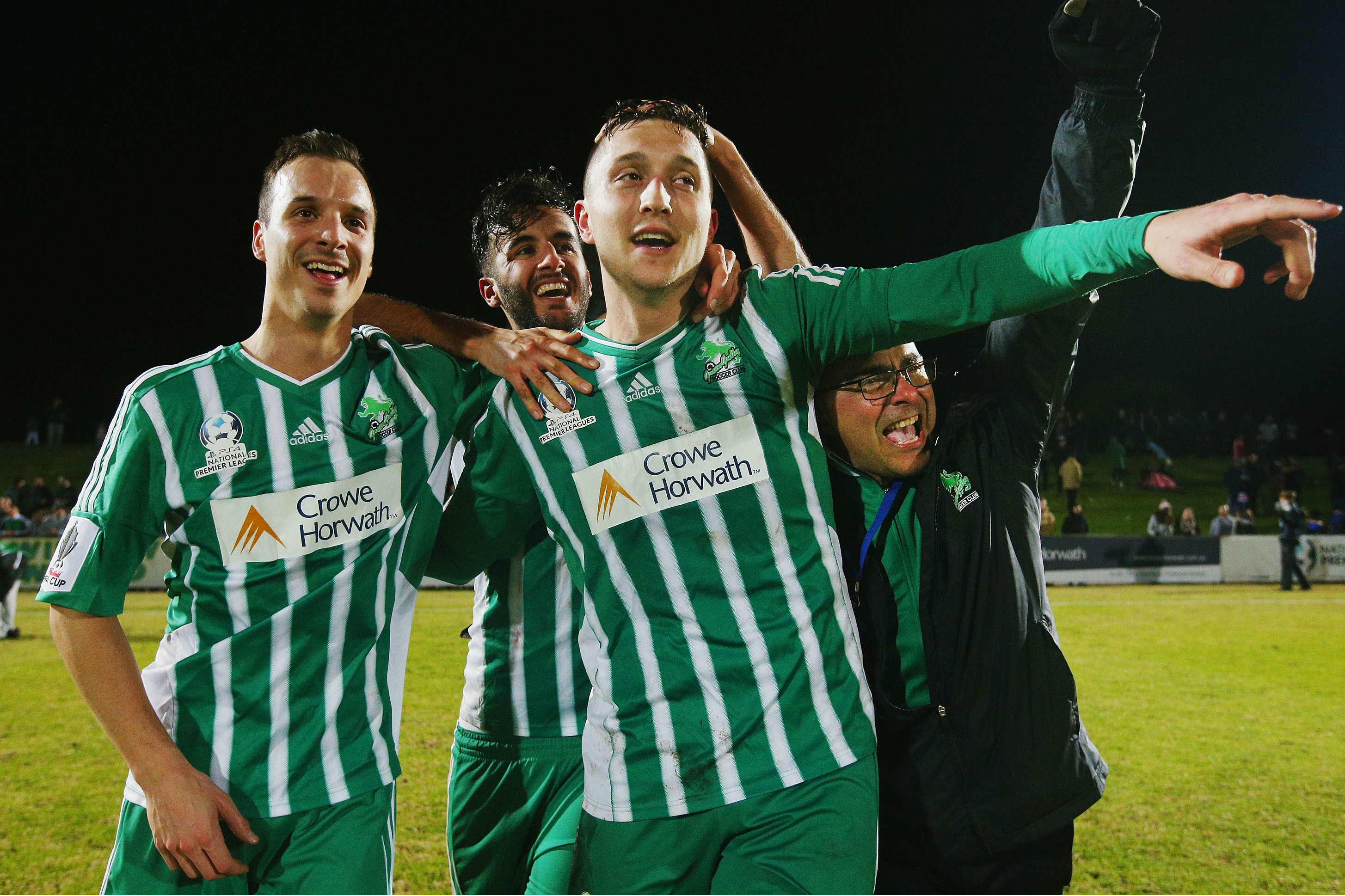 Liam Boland was Green Gully's hero against the Mariners.