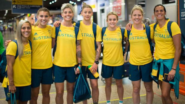Gallery: Australia prepare for Sao Paolo opener ...