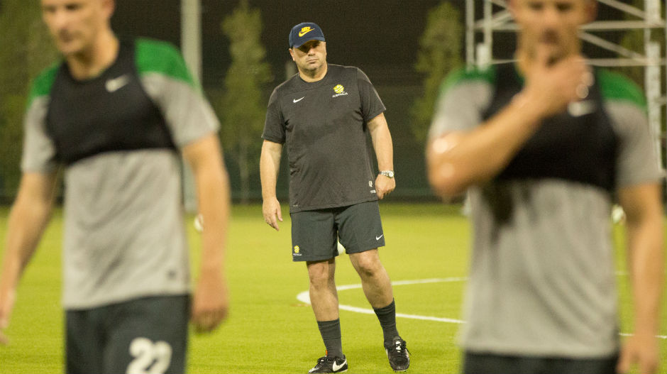 Coach Ange Postecoglou has assembled his Socceroos squad as they prepare to embark on their World Cup qualification campaign.