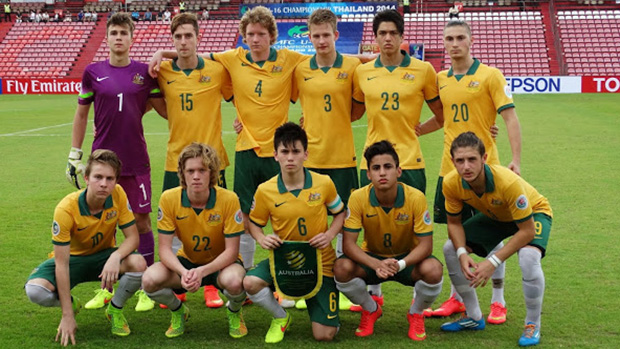The Joeys starting XI that faced Japan earlier in the tournament.