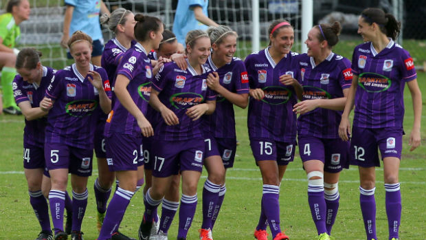 Perth Glory were this season's Westfield W-League Minor Premiers.