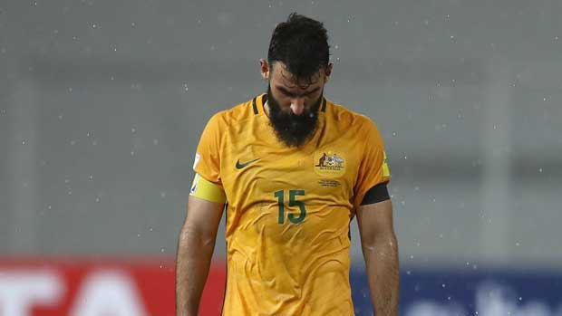 aa401f885 Jedinak out of Caltex Socceroos squad for Confeds Cup