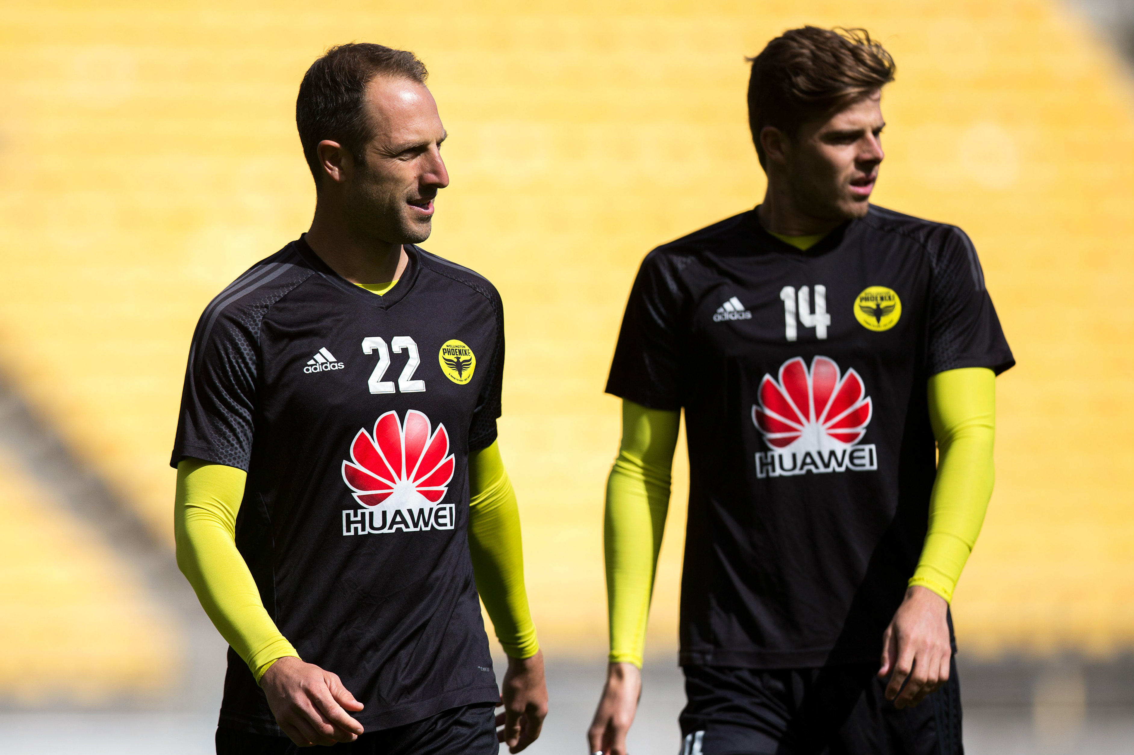 Andrew Durante and Alex Rufer could both be rested against Perth due to a threat over suspension