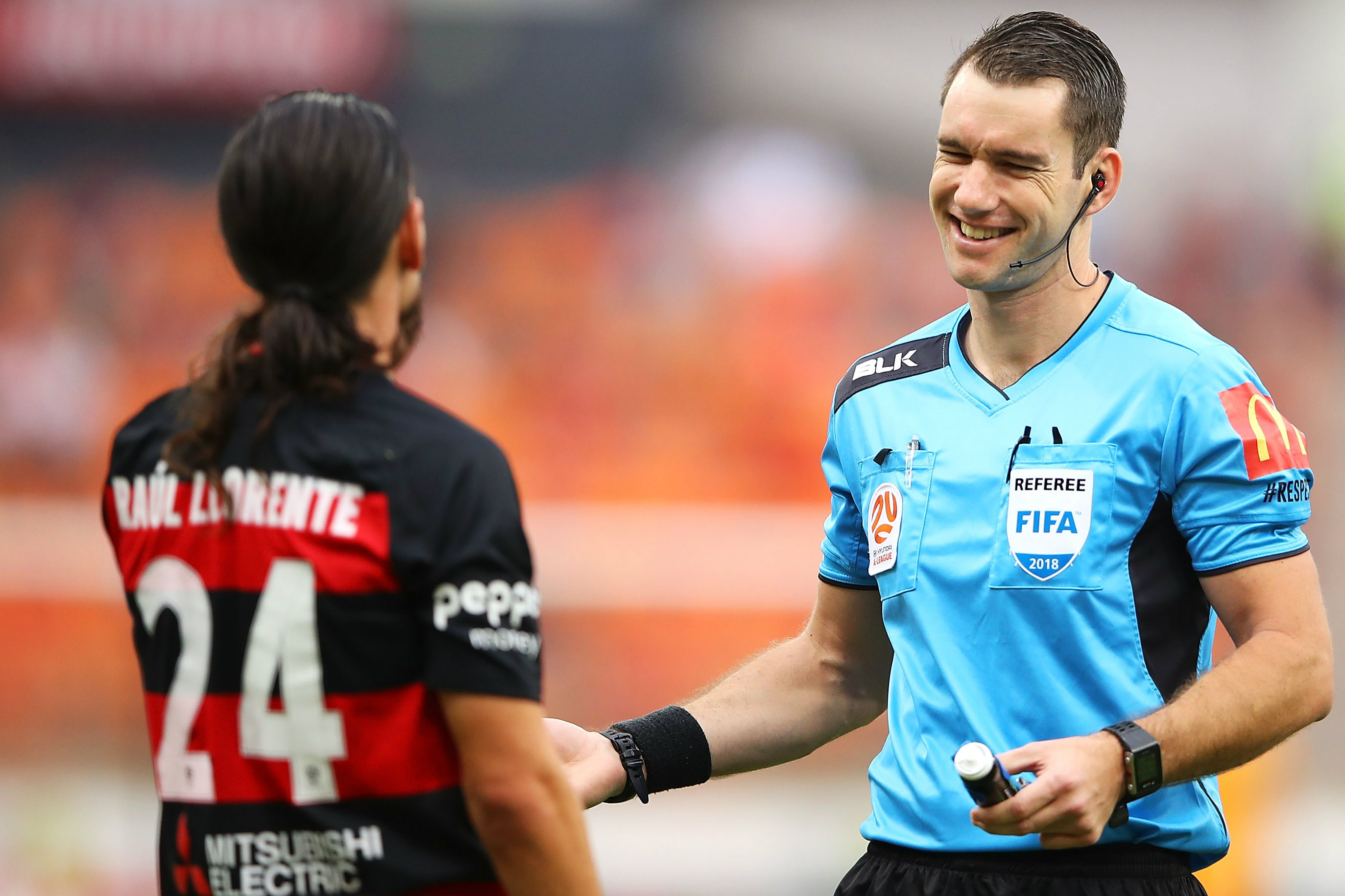 7063e1db3 Jarred Gillett resigns from Hyundai A-League referee panel
