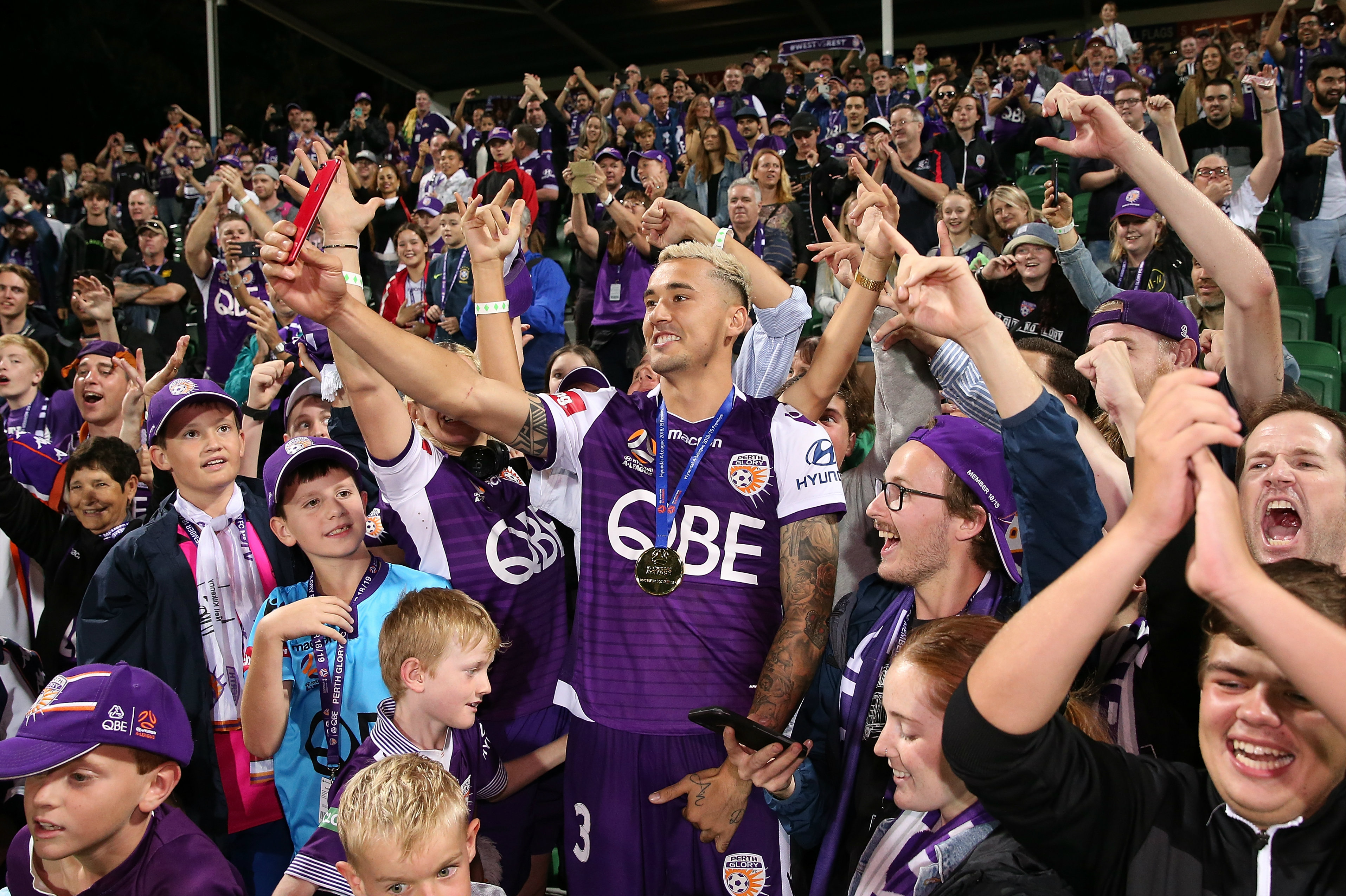 Perth Glory are going to have massive home support behind them against Sydney FC
