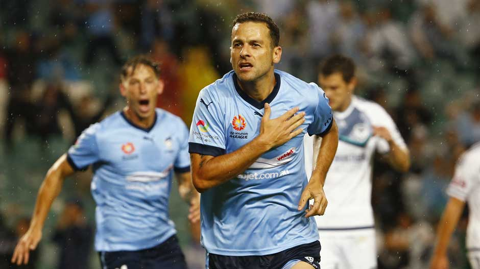 Sydney FC striker Bobo is third in the rating when it comes to strikers in the Hyundai A-League for FIFA 18.