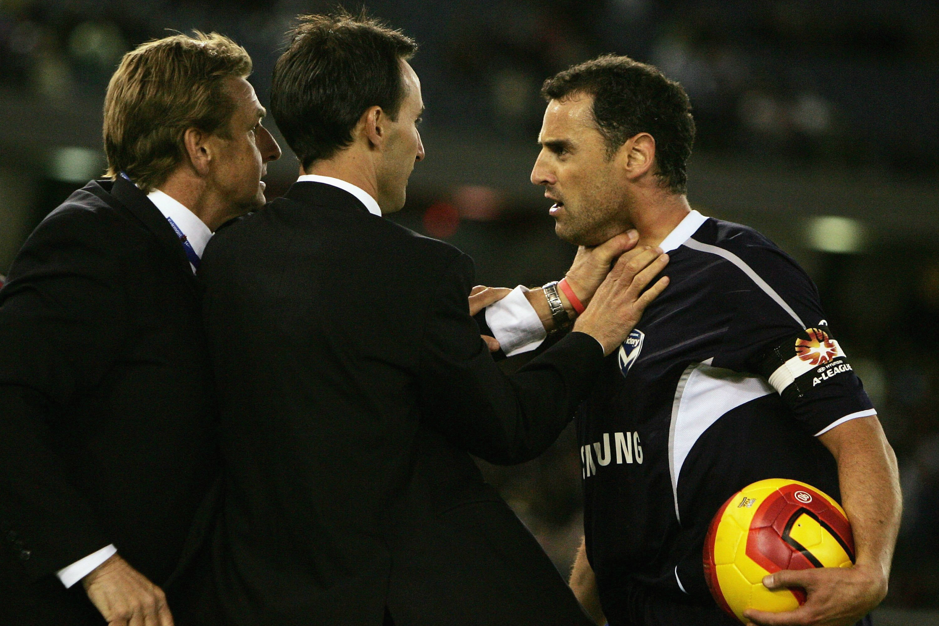 The infamous incident involved Josh Kosmina and Kevin Muscat
