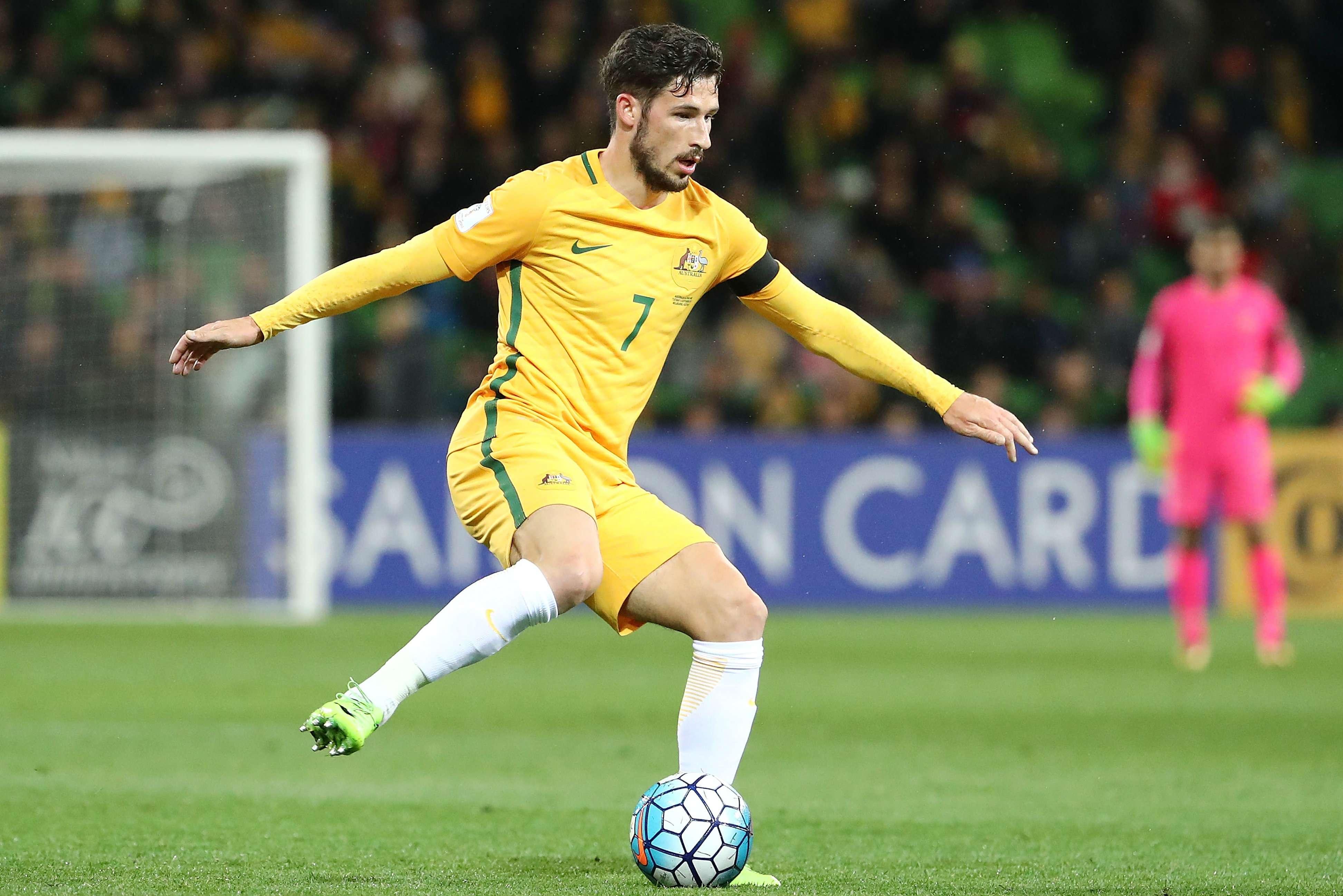 Mat Leckie will hope to bring his club form into the clash with Syria.