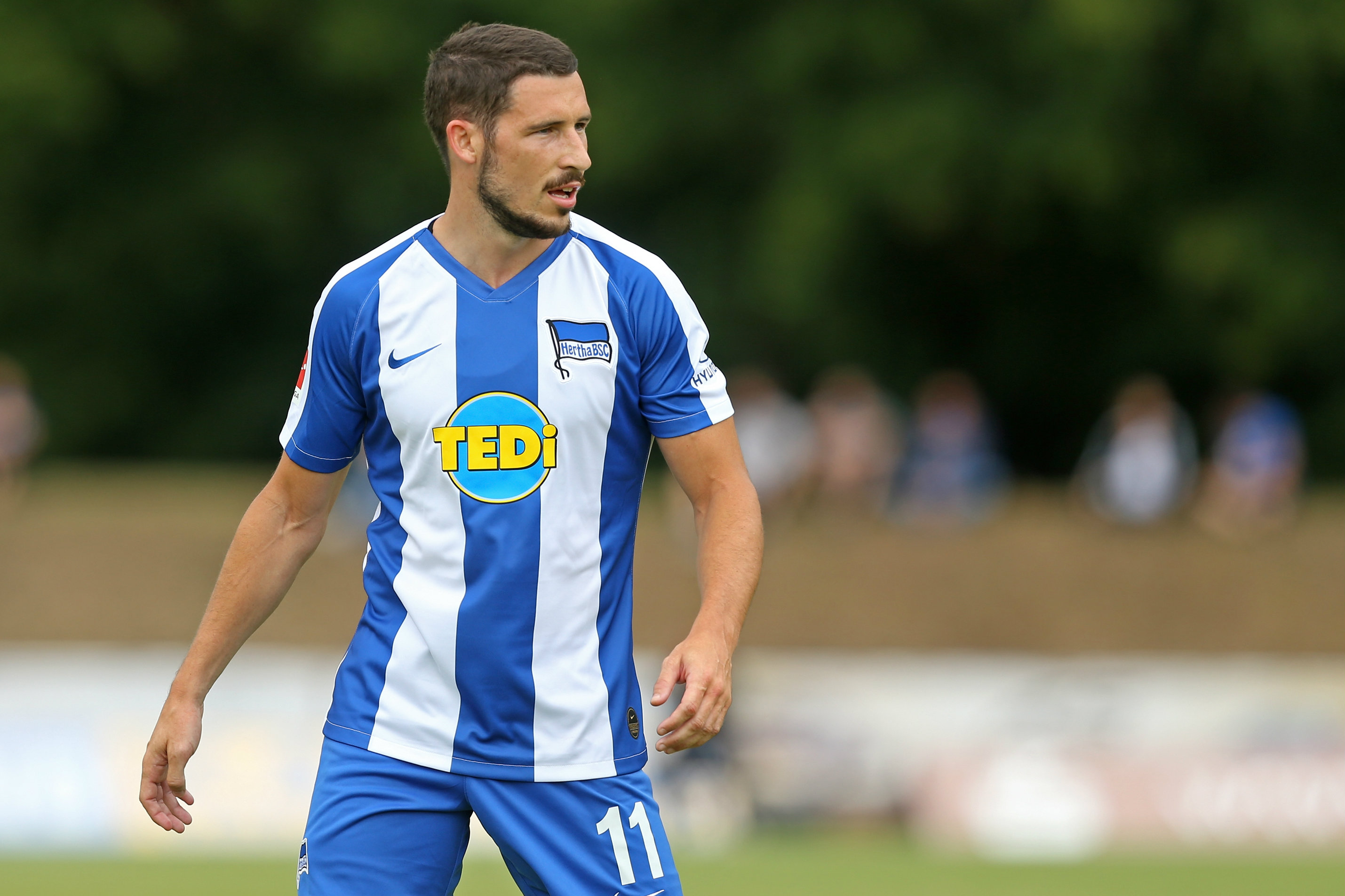 Mathew Leckie's Hertha Berlin will be expected to progress in the Cup against fourth tier opposition