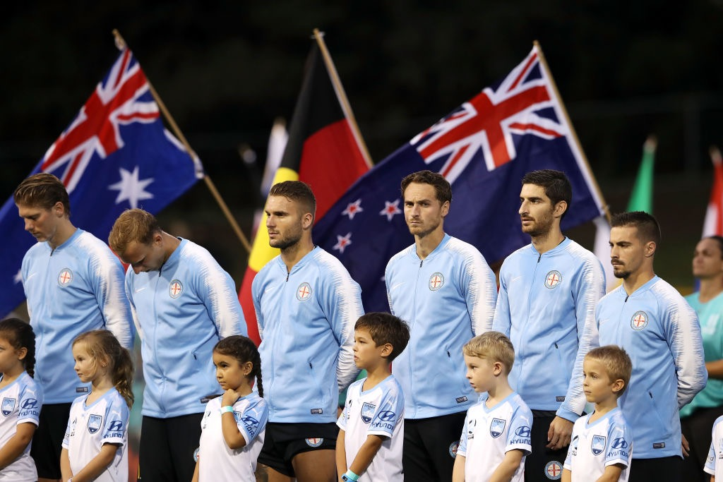 minutes silence_Sydney vs Melbourne City_17_03_2019