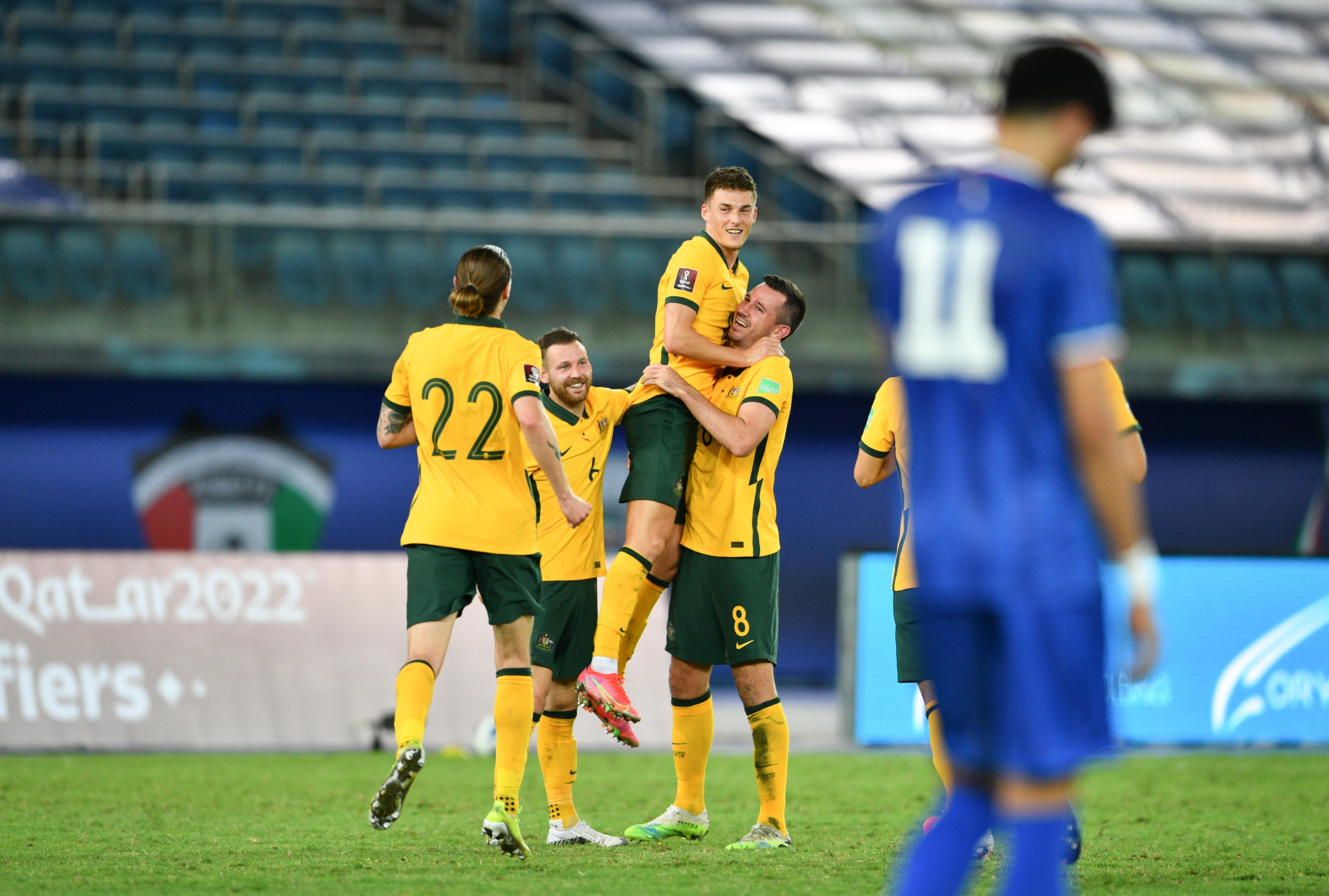 Gallery: The Socceroos advance in FIFA World Cup Qualifying with excellent document