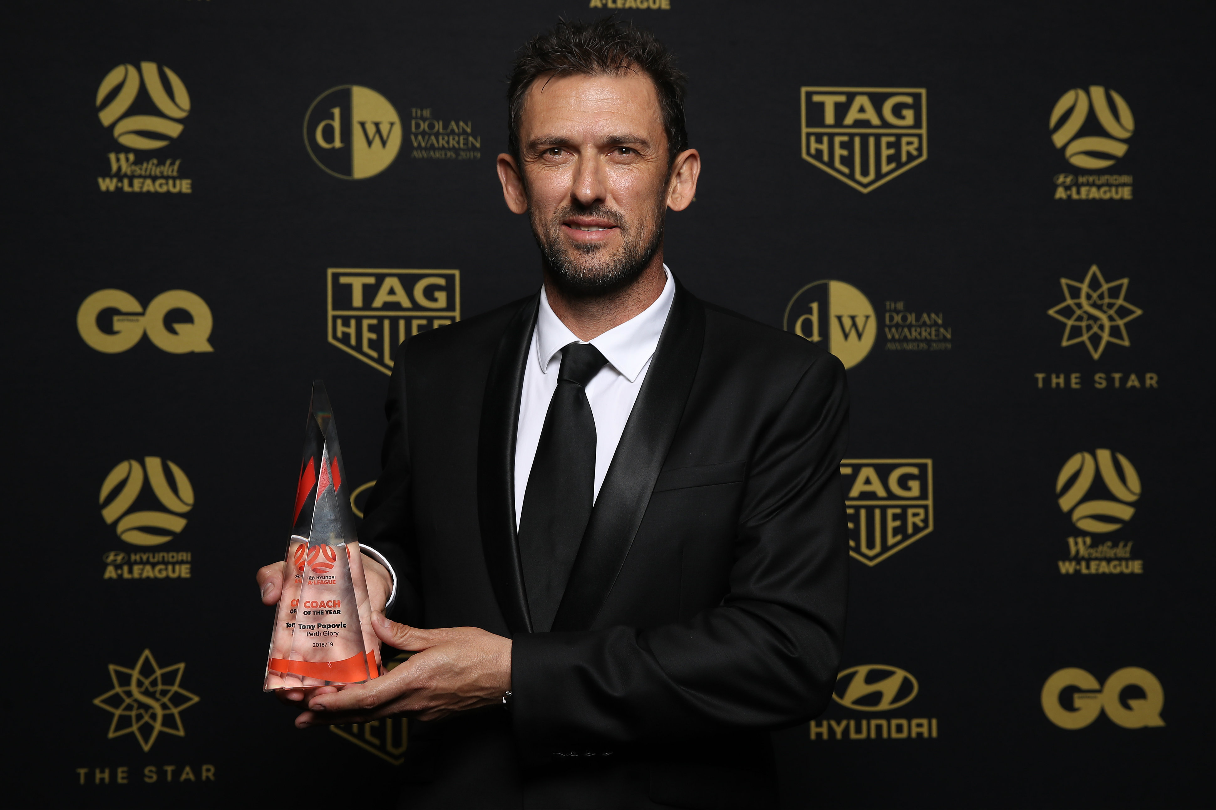 Tony Popovic was a worthy winner of the Hyundai A-League Coach of the Year for his exploits with Perth Glory