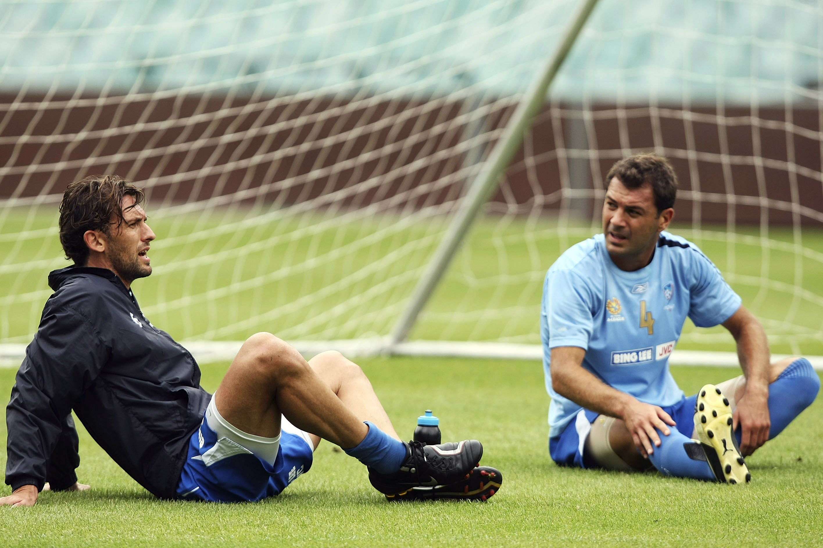 Tony Popovic and Mark Rudan played together in the Hyundai A-League with Sydney FC