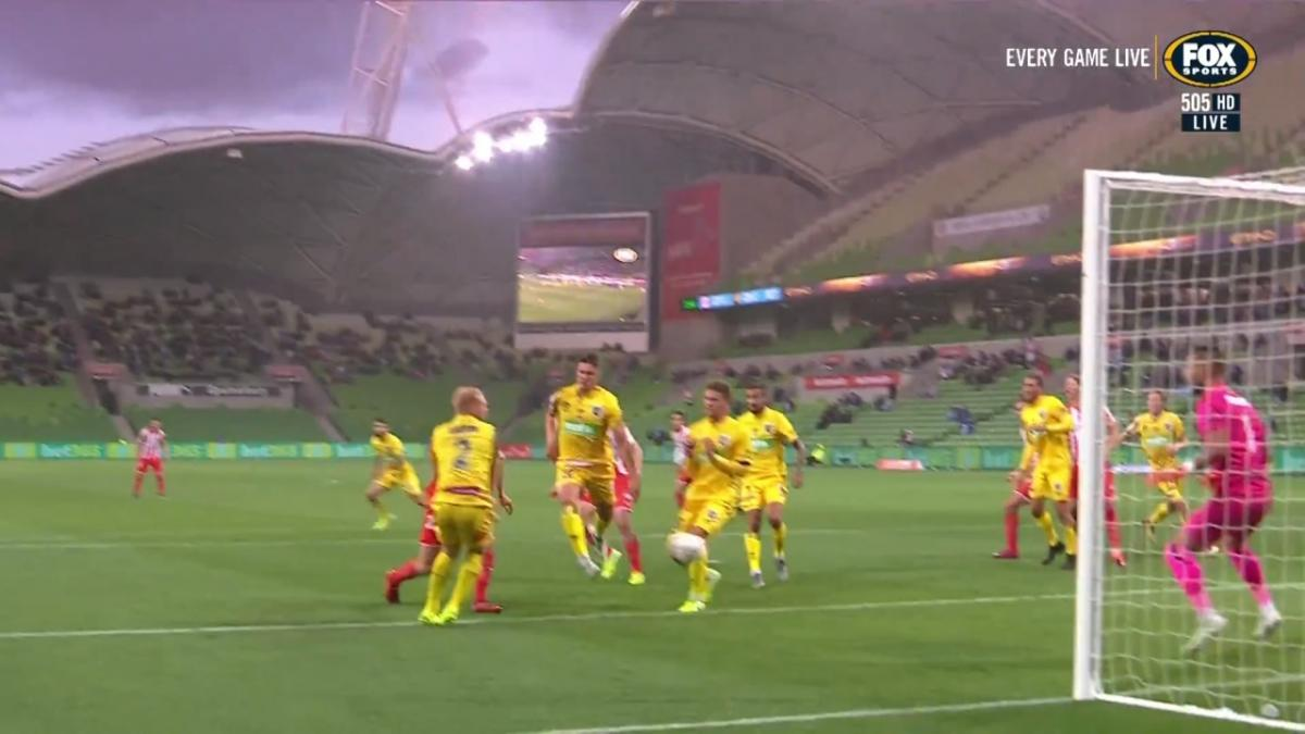 GOAL: Good - Melbourne City ahead on Remembrance Round Opener