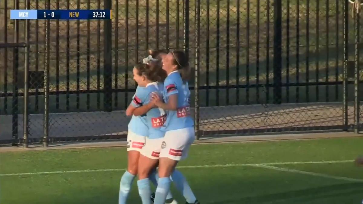 Steph Catley doubles City's lead