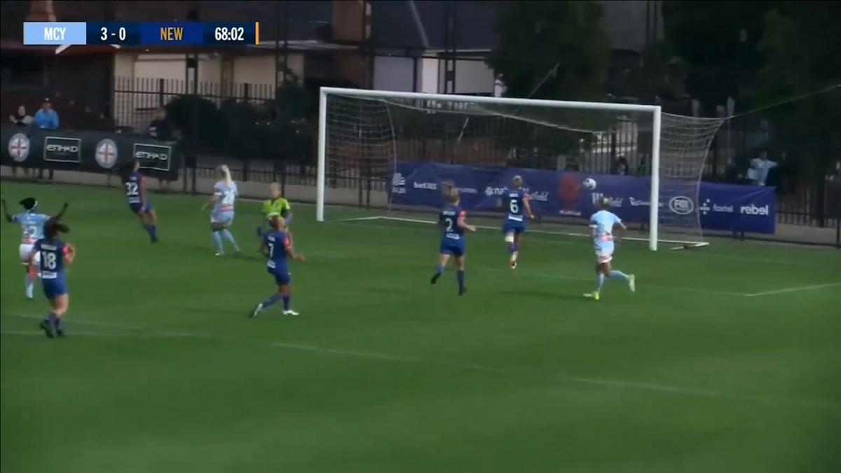 Hailie Mace scores on debut as City make it four