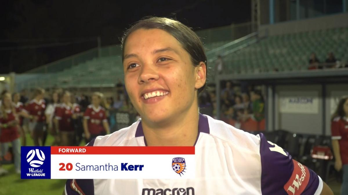 One-on-one: Sam Kerr on setting all-time Westfield W-League scoring record