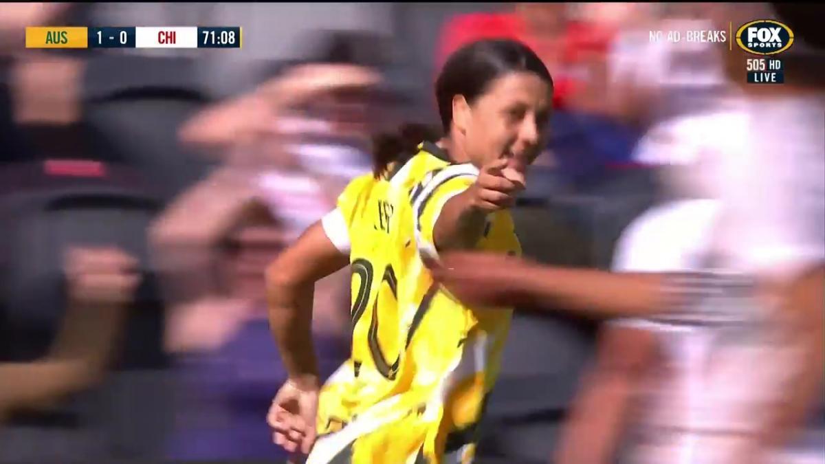 Match Highlights | Australia v Chile | International Friendly