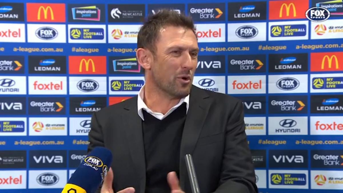 Popovic: A point was the least we deserved today | Press Conference | Hyundai A-League