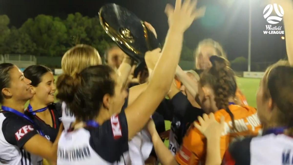 Melbourne Victory claim their maiden W-League Premiers Plate