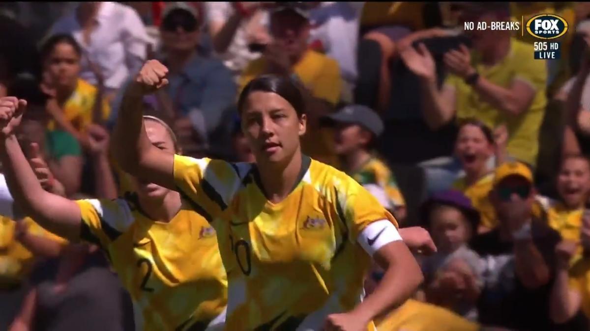 Mini Match   Australia v Chile   International Friendly