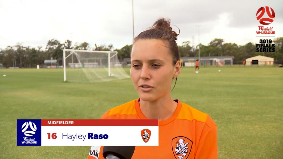 One-on-one: Hayley Raso - Brisbane Roar