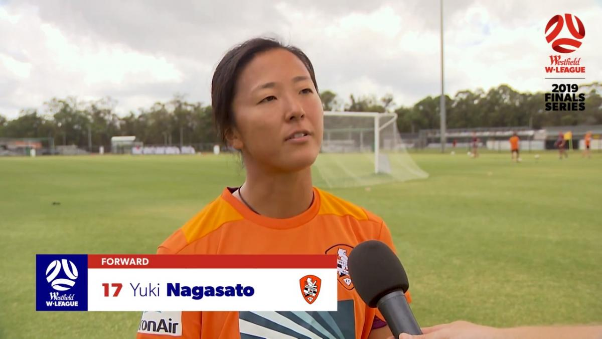 One-on-one: Yuki Nagasato - Brisbane Roar